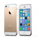 Чехол силиконовый для iPhone 5/5S (прозрачный)