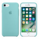 Силиконовый чехол для Apple iPhone 7/8 Sea Blue (MMX02)