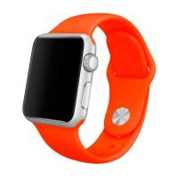 Ремешок для Apple Watch 42 mm, цвет оранжевый