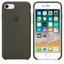 Силиконовый чехол для Apple iPhone 7/8 - Dark Olive