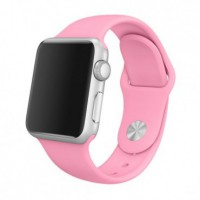 Ремешок для Apple Watch 38 mm, цвет розовый