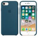 Силиконовый чехол для Apple iPhone 7/8 - Cosmos Blue