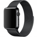 Ремешок Milanese Loop для Apple Watch 42mm черный