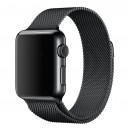 Ремешок Milanese Loop для Apple Watch 38mm черный