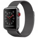 Ремешок Milanese Loop для Apple Watch 42mm серый