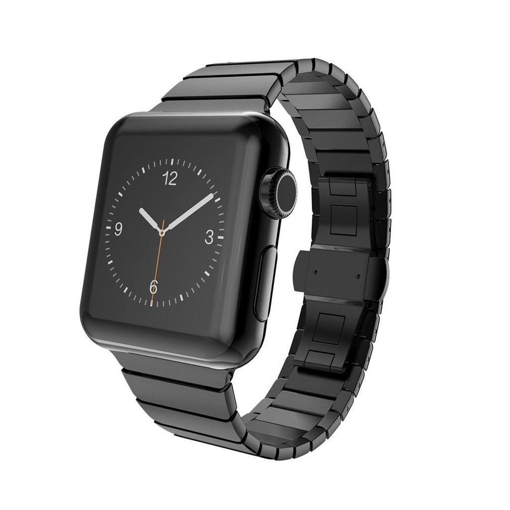 space black stainless steel watch - 1000×1000
