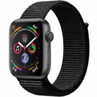 Apple Watch Series 4 (MU6E2) 44mm Space Gray Aluminum Case with Black Sport Loop