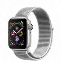 Apple Watch Series 4 (MU652) 40mm Silver Aluminum Case with Seashell Sport Loop