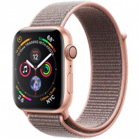 Apple Watch Series 4 (MU6G2) 44mm Gold Aluminum Case with Pink Sand Sport Loop