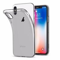 Силиконовый чехол для iPhone Xs Max (тонированный)