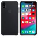 Силиконовый чехол для Apple iPhone XR (Black)