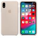 Силиконовый чехол для Apple iPhone XR (Stone)
