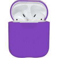 Силиконовый чехол для Apple AirPods - Фиолетовый