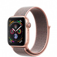 Apple Watch Series 4 (MU692) 40mm Gold Aluminum Case with Pink Sand Sport Loop